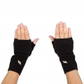 Back On Track Fleece Fingerless Gloves