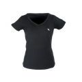 Back On Track V Neck Ladies T-Shirt