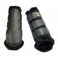 Back On Track Horse Faux Fur Brushing Boots - Pair