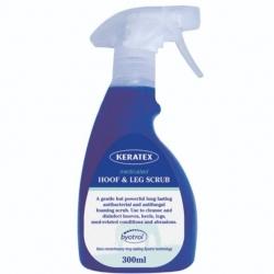 Keratex Medicated Horse Hoof and Leg Scrub 300ml Spray
