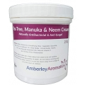 Amberley Aromatics Tea Tree Manuka Neem Cream 250 Grams