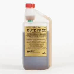 Gold Label Bute Free Liquid For Horses - 1 Litre