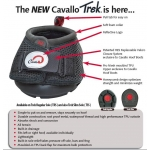 Cavallo Trek Regular Horse Hoof Boot - Sizes 0 to 6