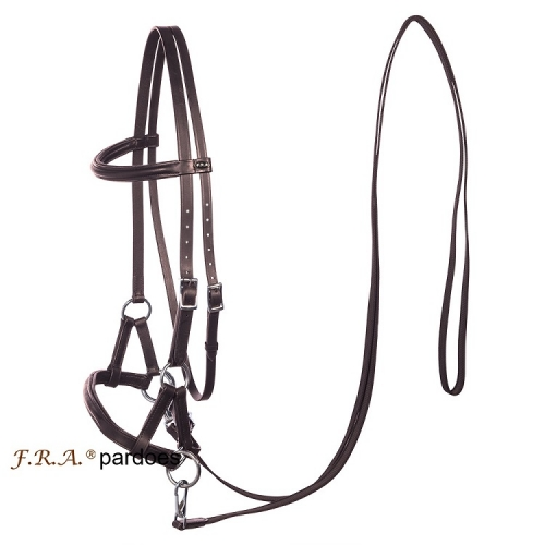 Pardoes Side Pull Bitless Bridle And Reins
