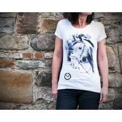 Urban Horse Ladies T-Shirt - Chalice