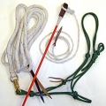 Natural Horsemanship Kit - Horse Parelli Style Training Equipment / Kit With 22ft Rope