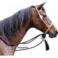 Macanta Bosal Bitless Bridle Complete With Mecate Rope Rein