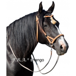 Shango Western Side Pull Bitless Bridle With Reins