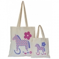 Moorland Rider Reusable Cotton Gift Bag