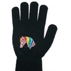 Childrens Horsehead Pattern Magic Gloves