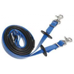 Zilco Synthetic Deluxe Rubber Grip Reins