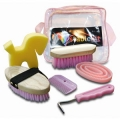 Horse Grooming Bag Set - Includes 6 Grooming Products