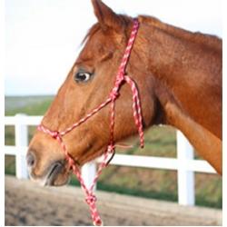 Natural Horsemanship Rope Halter - Horse Parelli Style Professional Training Halter