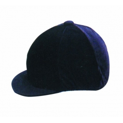 Velvet Riding Hat Cover