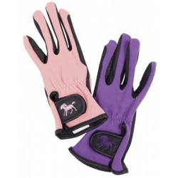 Childrens Riding Gloves Loveson Supergrip